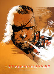 Commission - Metal Gear Solid Poster