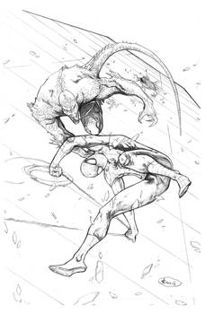 Spider-Man Commission - Pencils