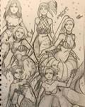 Mermaids by deadvampire32