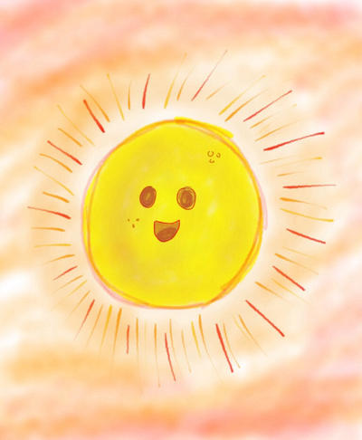 Happy Sun by Meag1p