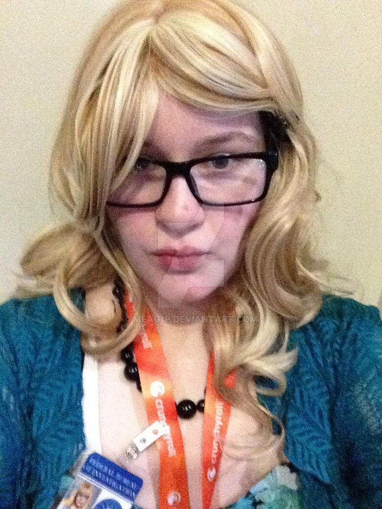 Penelope Garcia cosplay selfie by Meag1p