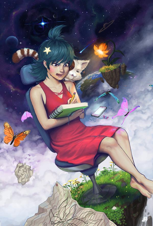 Your imagination by Tsukinopandaaa