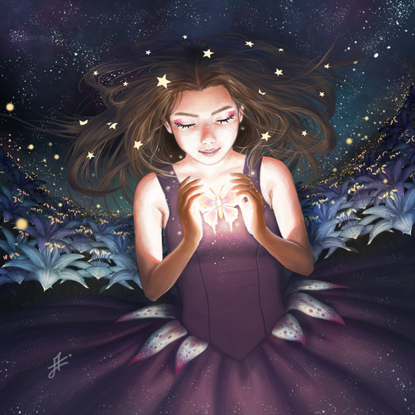 Flower girl by Tsukinopandaaa