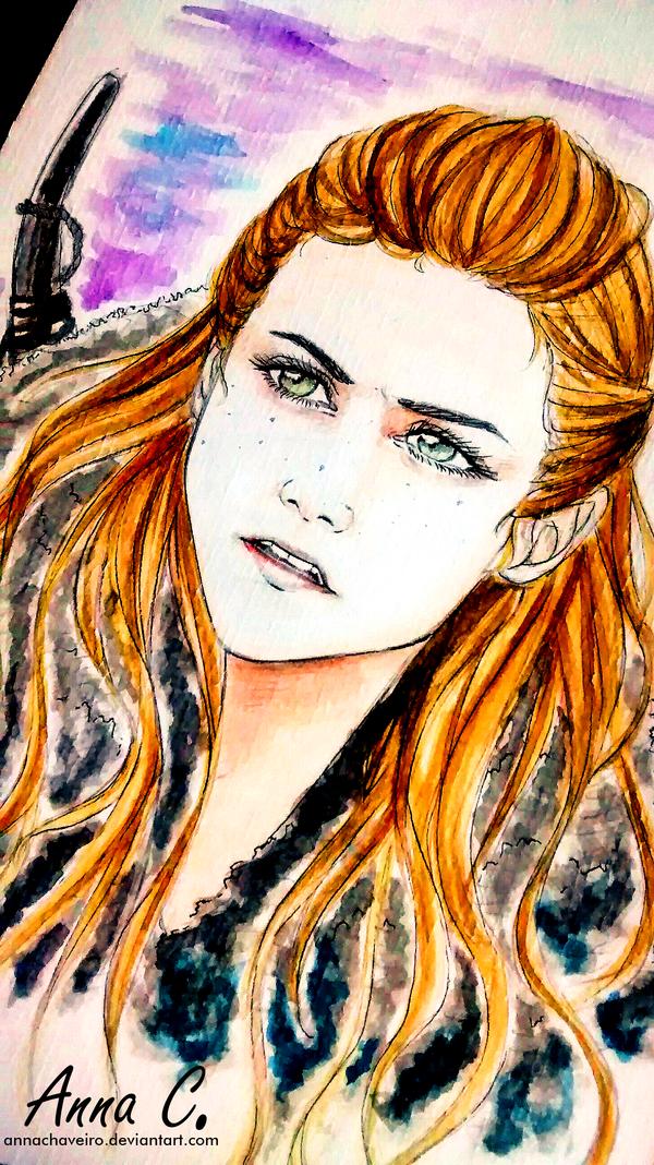 You know nothing Jon Snow by AnnaChaveiro