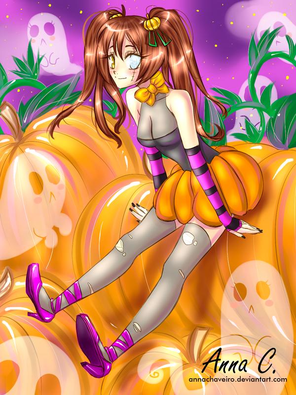 Miss Pumpkin by AnnaChaveiro