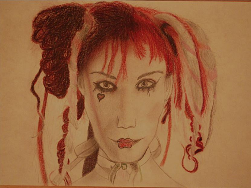 Emilie Autumn - study by LemonicDemon