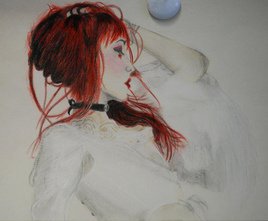 Emilie Autumn - study 2 by LemonicDemon