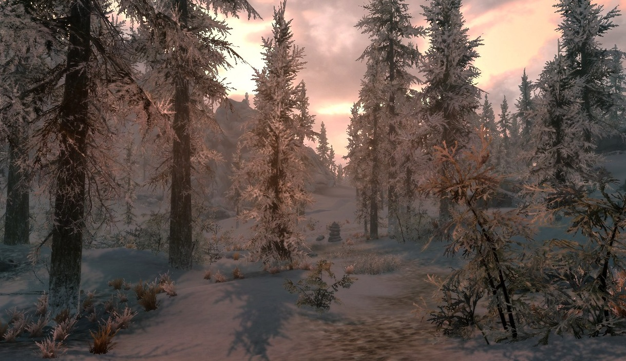 Wintry Woods by LemonicDemon