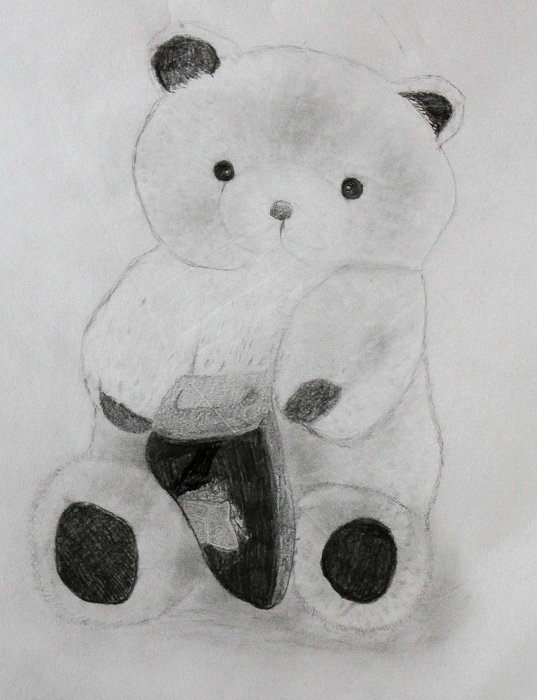 Charcoal-teddy by LemonicDemon