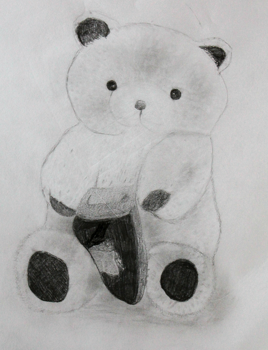 Charcoal-teddy by LemonicDemon