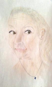A portrait of friend