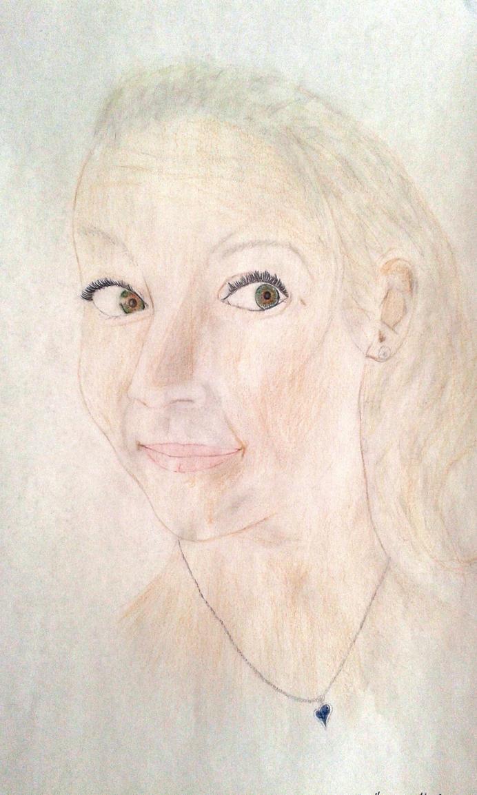 A portrait of friend by LemonicDemon