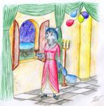 Krystal at the banquet