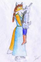 RETRO - Kiss of a Vixen by Sinaherib