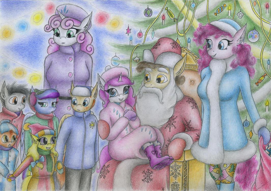 Santa Hooves by Sinaherib