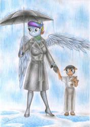 Lost in the Rain by Sinaherib