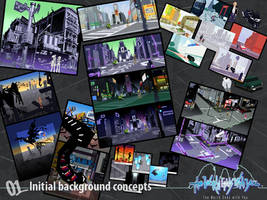Initial Background Concepts by wewy