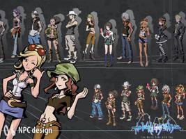 NPC Design by wewy