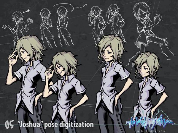 'Joshua' Pose digitization