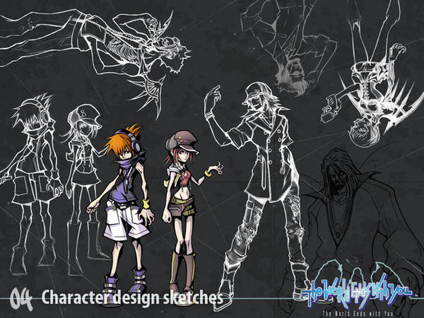 Character Design by wewy