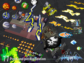 Psych and Pin Digitization