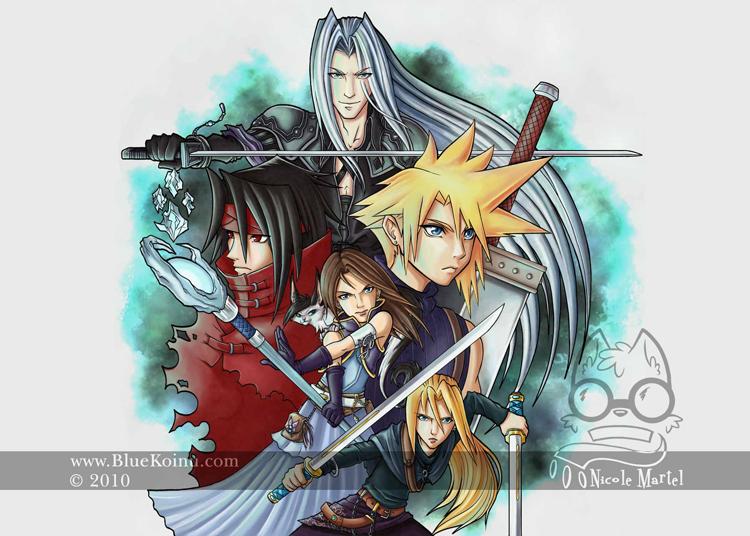 Final Fantasy 7 Custom by bluekoinu