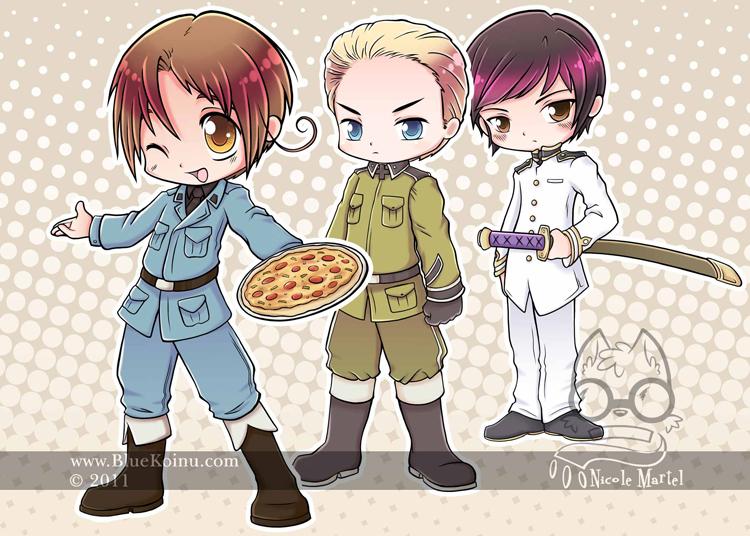 Axis Trio by bluekoinu