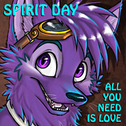 Spirit Day BlueKoinu by bluekoinu