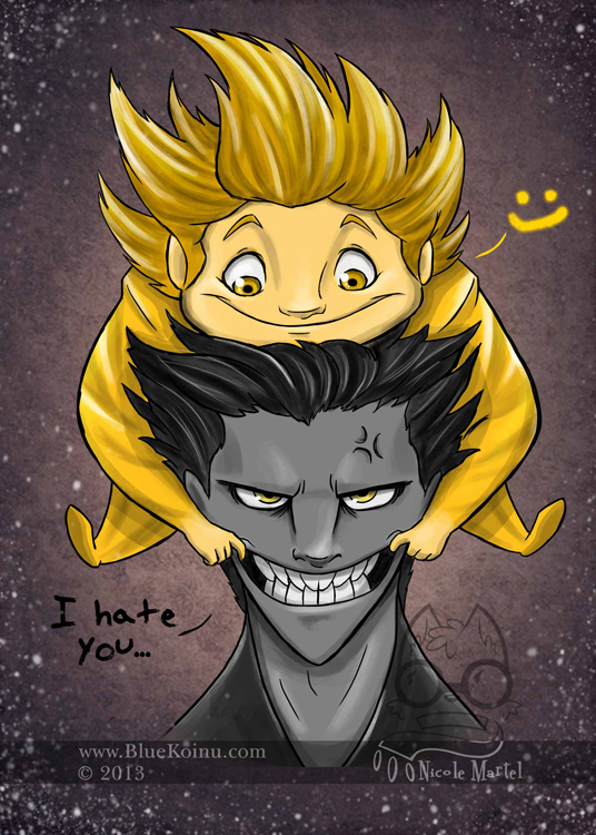 I Hate You by bluekoinu