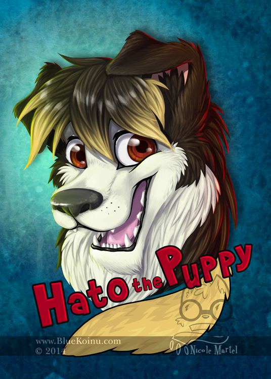 Hato the Puppy by bluekoinu