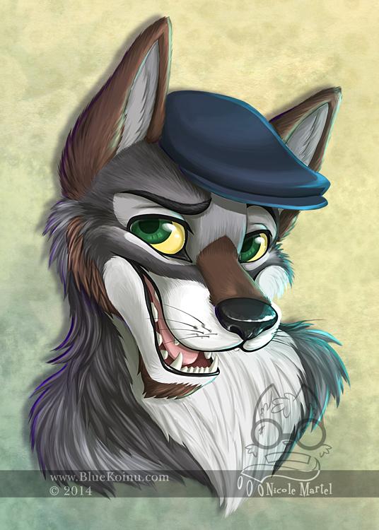 Greyson Wolf by bluekoinu