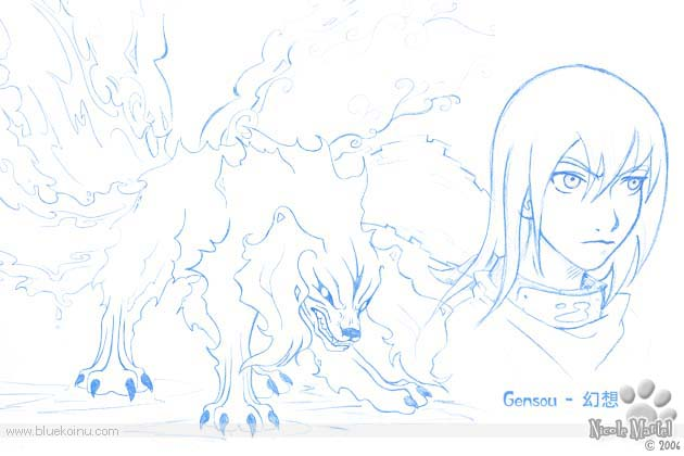 Gobi no Houkou Gensou Concept by bluekoinu
