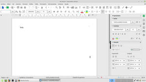 LibreOffice  6.0.0   Manjaro  Icons