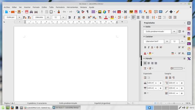 LibreOffice 6.0.0 -  Kalahari