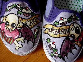 omg shoes by theseareourforests