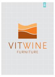 Vitwine logo by kic