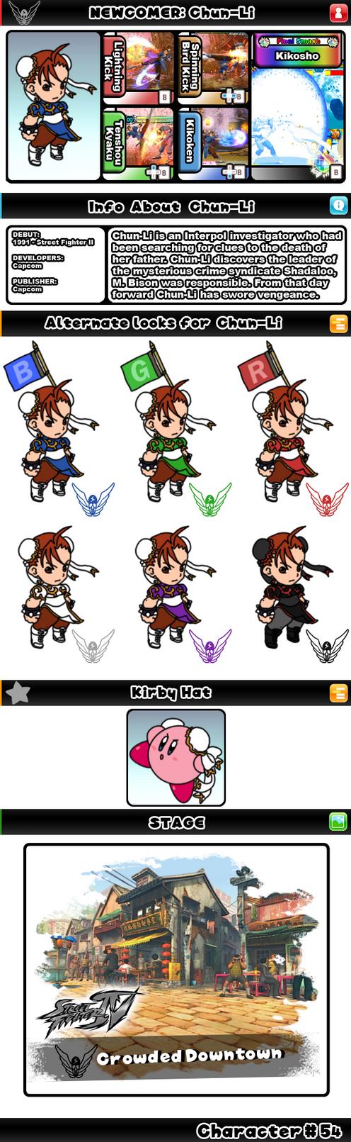 Newcomer Chun-Li by evilwaluigi