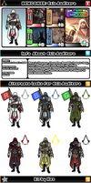 Newcomer Ezio by evilwaluigi