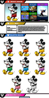 Newcomer Mickey Mouse