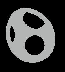 Yoshi Emblem by evilwaluigi
