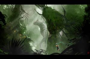 Alien Planet by IncaInk
