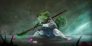Kung Fu Chameleon