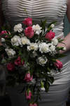 Tear Drop Wedding Bouquet