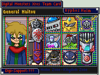 Digimon Xros Army Card - Haito by Diggersby-Tho