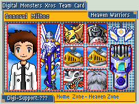 Digimon Xros Army Card -Miltos by NumePoi