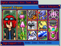 Digimon Xros Army Card-Trigger by NumePoi