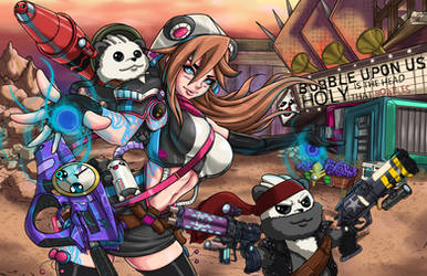 Borderlands 3 Contest Entry by Digitally-Devious