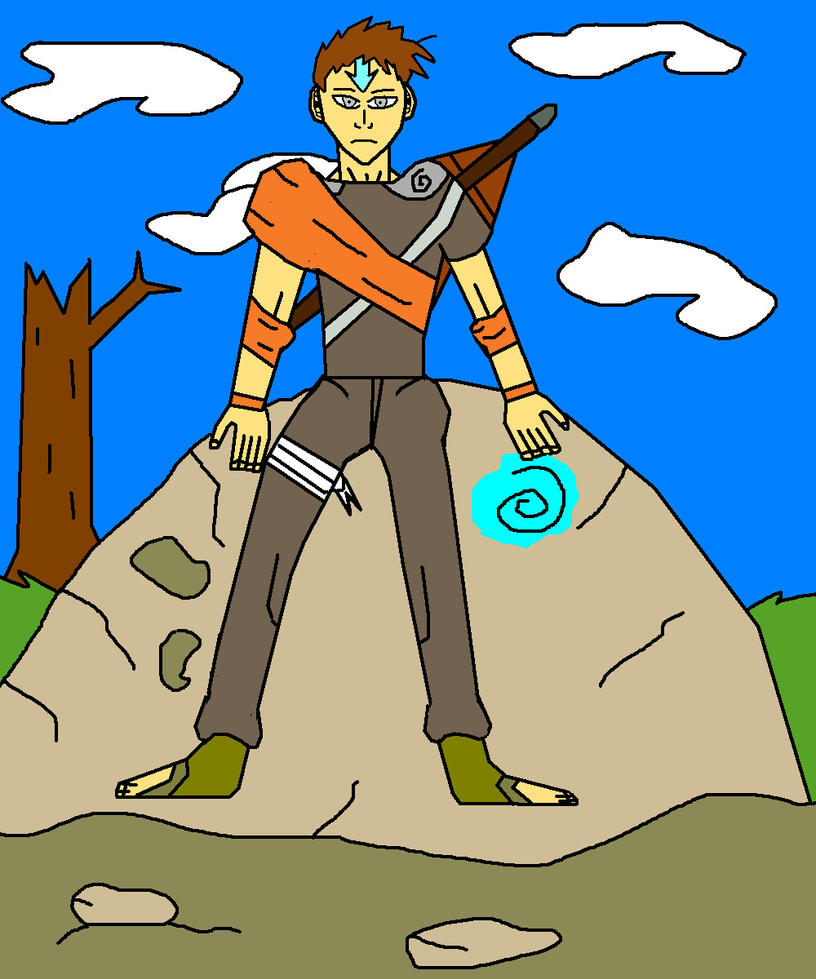 Avatar Aang With Hair: Avatar Aang By Zmanxx On DeviantART