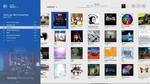 iTunes Modern UI - Music Albums View