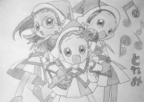 Ojamajo Doremi (Magical Doremi) Draw #1 by wifun2012